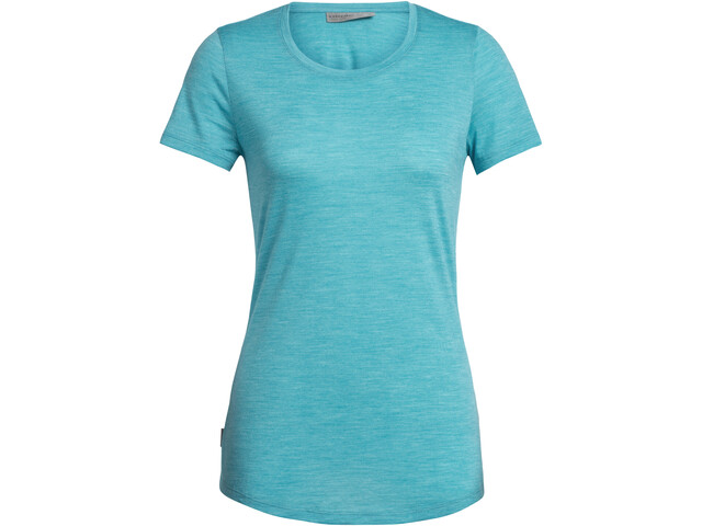 Icebreaker Sphere SS Low Rundhalsshirt Damen arctic teal heather
